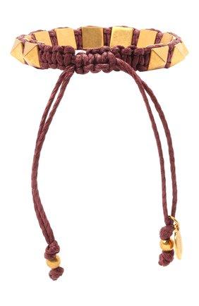Женский браслет valentino garavani VALENTINO бордового цвета, арт. VW0J0I02/PIK | Фото 2