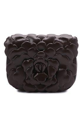 Женская сумка atelier rose VALENTINO темно-коричневого цвета, арт. VW0B0I02/JBZ   Фото 1