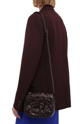 Женская сумка atelier rose VALENTINO темно-коричневого цвета, арт. VW0B0I02/JBZ   Фото 2