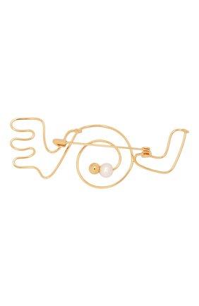 Женская брошь MARNI золотого цвета, арт. SPMV0093A0/M2000 | Фото 2
