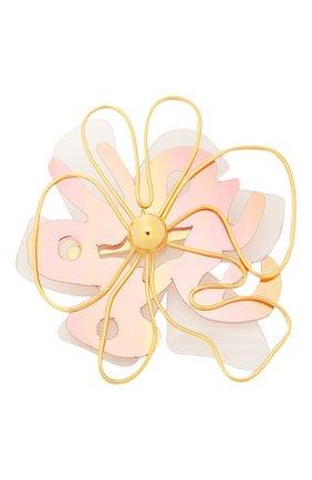 Женская брошь MARNI розового цвета, арт. SPMV0094A0/R2000 | Фото 1