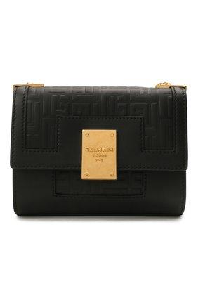 Женская сумка 1945 small BALMAIN черного цвета, арт. WN1BJ651/LESP | Фото 1