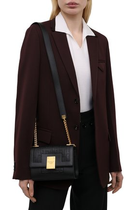Женская сумка 1945 small BALMAIN черного цвета, арт. WN1BJ651/LESP | Фото 2