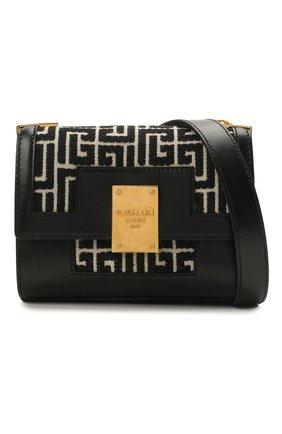 Женская сумка 1945 small BALMAIN черно-белого цвета, арт. WN1BJ651/TJGH | Фото 1