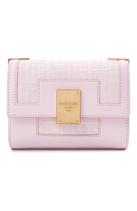Женская сумка 1945 small BALMAIN светло-розового цвета, арт. WN1BJ651/TJGH | Фото 1