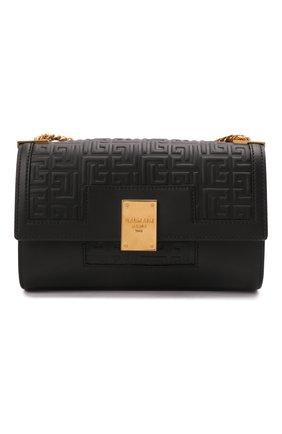 Женская сумка 1945 medium BALMAIN черного цвета, арт. WN1BK652/LESP | Фото 1