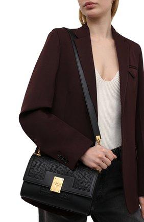 Женская сумка 1945 medium BALMAIN черного цвета, арт. WN1BK652/LESP | Фото 2