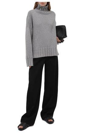 Женский кашемировый свитер JIL SANDER серого цвета, арт. JPPS759520-WSY10028 | Фото 2