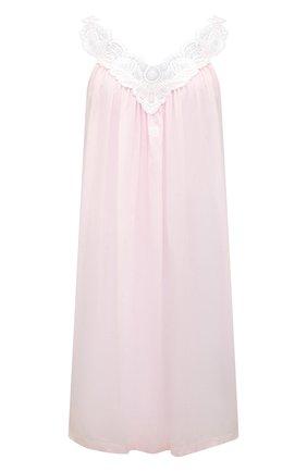 Женская хлопковая сорочка CELESTINE розового цвета, арт. 30002675/AMINA-1 BD | Фото 1