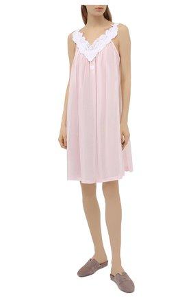 Женская хлопковая сорочка CELESTINE розового цвета, арт. 30002675/AMINA-1 BD | Фото 2