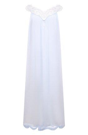 Женская хлопковая сорочка CELESTINE голубого цвета, арт. 10002670/AMINA-1 NG | Фото 1