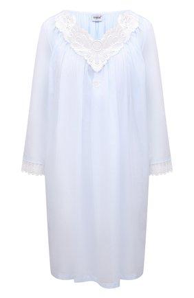 Женская хлопковая сорочка CELESTINE голубого цвета, арт. 30002677/AMINA-2 BD | Фото 1