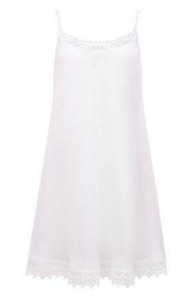 Женская льняная сорочка CELESTINE белого цвета, арт. 30002682/CLAUDINE T0P | Фото 1