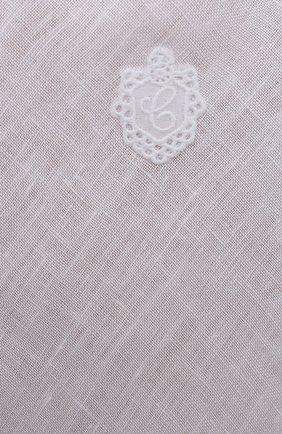 Женская льняная сорочка CELESTINE белого цвета, арт. 30002682/CLAUDINE T0P | Фото 5 (Длина Ж (юбки, платья, шорты): Мини; Материал внешний: Лен)