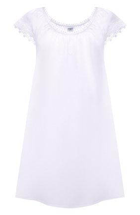 Женская льняная сорочка CELESTINE белого цвета, арт. 30002681/CLAUDINE BD | Фото 1