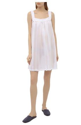 Женская хлопковая сорочка CELESTINE белого цвета, арт. 30002694/KARIN BD | Фото 2