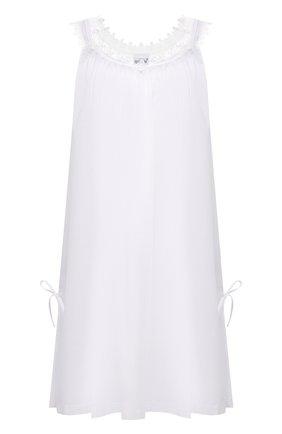 Женская хлопковая сорочка CELESTINE белого цвета, арт. 30002672/L0LITA BD | Фото 1