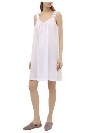 Женская хлопковая сорочка CELESTINE белого цвета, арт. 30002672/L0LITA BD | Фото 2