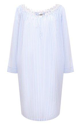 Женская хлопковая сорочка CELESTINE голубого цвета, арт. 20000789/RIALT0 SHIRT | Фото 1
