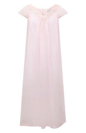 Женская хлопковая сорочка CELESTINE розового цвета, арт. 10002683/VICKY-2 NG | Фото 1