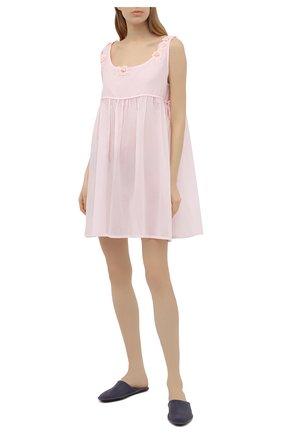Женская хлопковая сорочка CELESTINE розового цвета, арт. 30002688/VICKY-A BD | Фото 2