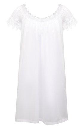 Женская хлопковая сорочка CELESTINE белого цвета, арт. 30002692/YVETTE-2 BD | Фото 1