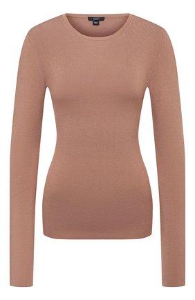 Женский шелковый пуловер JOSEPH бежевого цвета, арт. JF004762   Фото 1