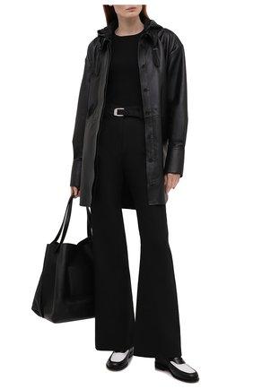 Женский шелковый пуловер JOSEPH черного цвета, арт. JF004762 | Фото 2