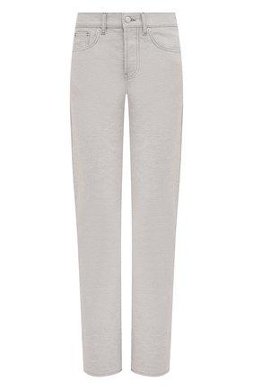 Женские джинсы MAISON MARGIELA светло-серого цвета, арт. S29LA0085/S30753 | Фото 1