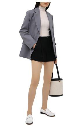 Женские шорты VINCE черного цвета, арт. V720221949 | Фото 2