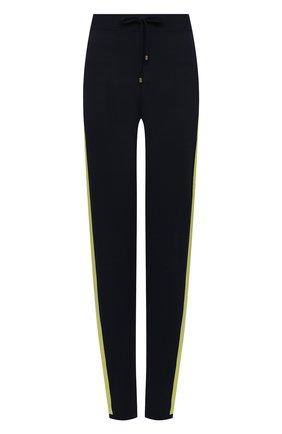 Женские брюки из вискозы LORENA ANTONIAZZI темно-синего цвета, арт. P21130PM002/255 | Фото 1