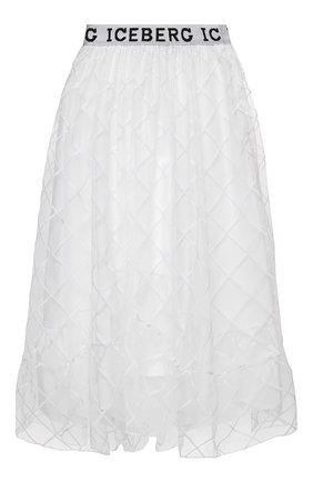 Женская юбка ICEBERG белого цвета, арт. 21E I2P0/C041/4857 | Фото 1