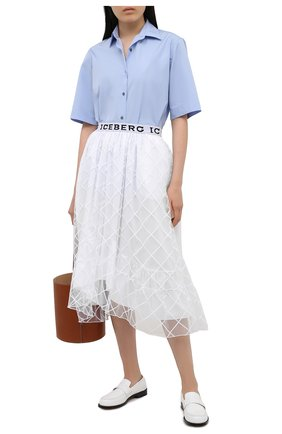 Женская юбка ICEBERG белого цвета, арт. 21E I2P0/C041/4857 | Фото 2