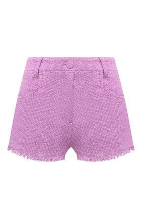 Женские хлопковые шорты MSGM сиреневого цвета, арт. 3042MDB102X 217306 | Фото 1