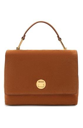 Женская сумка liya suede COCCINELLE коричневого цвета, арт. E1 HD1 18 01 01   Фото 1
