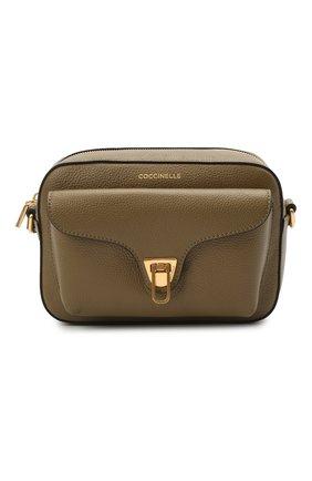 Женская сумка beat soft COCCINELLE хаки цвета, арт. E1 HF6 15 02 01   Фото 1