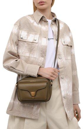 Женская сумка beat soft COCCINELLE хаки цвета, арт. E1 HF6 15 02 01   Фото 2