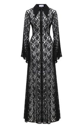 Женское платье NATASHA ZINKO черного цвета, арт. SS21107-01 | Фото 1