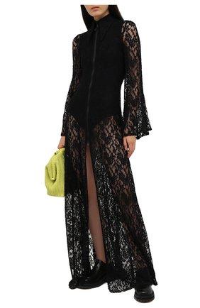 Женское платье NATASHA ZINKO черного цвета, арт. SS21107-01 | Фото 2