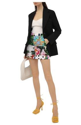 Женские хлопковые шорты DOLCE & GABBANA разноцветного цвета, арт. FTASXT/GDX82 | Фото 2