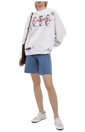 Женские кожаные кеды sophie PREMIATA белого цвета, арт. M6081/S0PHIE | Фото 2