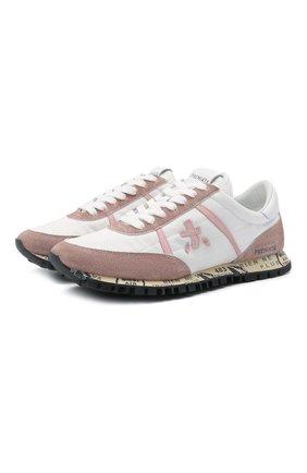 Женские комбинированные кроссовки seand PREMIATA розового цвета, арт. SEAND/VAR5128 | Фото 1