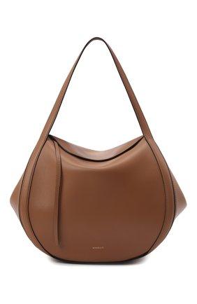 Женская сумка lin medium WANDLER коричневого цвета, арт. LIN BAG   Фото 1