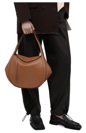 Женская сумка lin medium WANDLER коричневого цвета, арт. LIN BAG   Фото 2