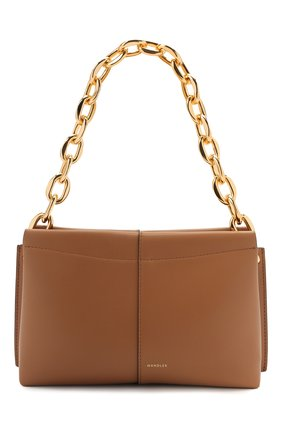 Женская сумка carly chain mini WANDLER коричневого цвета, арт. CARLY MINI HEAVY CHAIN   Фото 1