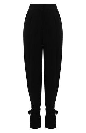 Женские брюки MONOT черного цвета, арт. PF2021TR01 | Фото 1