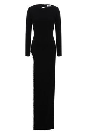 Женское платье MONOT черного цвета, арт. DR2012 | Фото 1