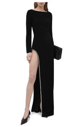 Женское платье MONOT черного цвета, арт. DR2012 | Фото 2