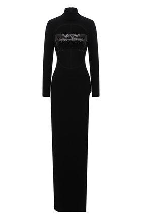 Женское платье MONOT черного цвета, арт. DR2004 | Фото 1