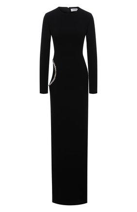 Женское платье MONOT черного цвета, арт. DR2003 | Фото 1